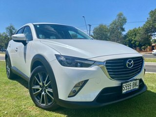 2016 Mazda CX-3 DK2W76 sTouring SKYACTIV-MT Snowflake White Pearl 6 Speed Manual Wagon.