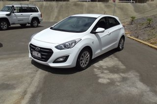 2015 Hyundai i30 GD4 Series II MY16 Active White 6 Speed Sports Automatic Hatchback.