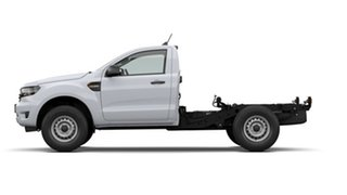 2020 Ford Ranger PX MkIII 2021.25MY XL Arctic White 6 Speed Sports Automatic Single Cab Chassis.