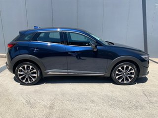 2020 Mazda CX-3 DK2W7A Akari SKYACTIV-Drive FWD Deep Crystal Blue 6 Speed Sports Automatic Wagon.