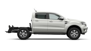 2021 Ford Ranger PX MkIII MY21.25 XLT 3.2 (4x4) Alabaster White 6 Speed Automatic Double Cab Chassis