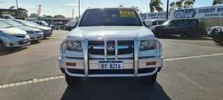 2010 Holden Colorado RC MY10 LX Crew Cab 4x2 White 4 Speed Automatic Utility.