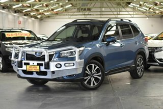 2019 Subaru Forester S5 MY19 2.5i Premium CVT AWD Blue 7 Speed Constant Variable Wagon.