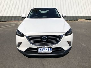 2016 Mazda CX-3 DK4W7A sTouring SKYACTIV-Drive i-ACTIV AWD White 6 Speed Sports Automatic Wagon