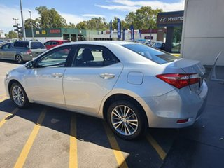 2014 Toyota Corolla ZRE172R SX S-CVT Silver 7 Speed Constant Variable Sedan