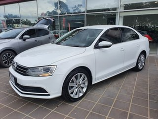 2016 Volkswagen Jetta 1B MY16 118TSI DSG Comfortline White 7 Speed Sports Automatic Dual Clutch.
