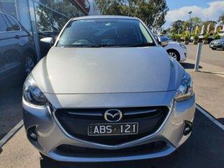 2014 Mazda 2 DJ2HAA Genki SKYACTIV-Drive Silver 6 Speed Sports Automatic Hatchback.
