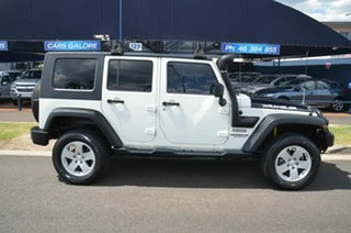 2010 Jeep Wrangler Unlimited JK MY09 Sport (4x4) White 5 Speed Automatic Softtop.