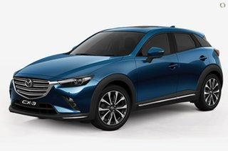 2020 Mazda CX-3 DK4W7A Akari SKYACTIV-Drive i-ACTIV AWD Blue 6 Speed Sports Automatic Wagon