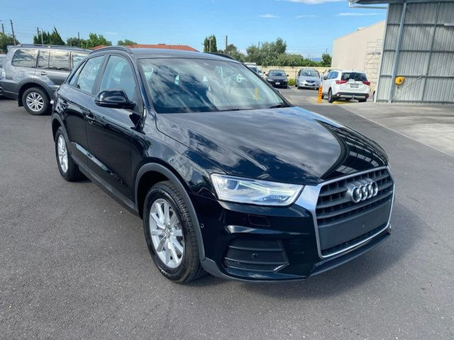 Used Audi Q3 8U MY17 TFSI S Tronic Hillcrest, 2017 Audi Q3 8U MY17 TFSI S Tronic Black 6 Speed Sports Automatic Dual Clutch Wagon