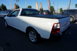 2012 Ford Falcon FG MkII EcoLPi Ute Super Cab Winter White 6 Speed Sports Automatic Utility.