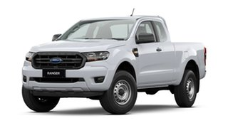 2020 Ford Ranger PX MkIII 2021.25MY XL White 6 Speed Sports Automatic Super Cab Pick Up.