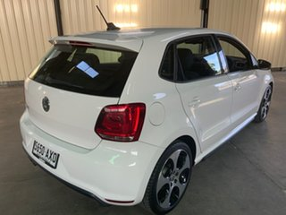 2013 Volkswagen Polo 6R MY13.5 GTi White 7 Speed Auto Direct Shift Hatchback.