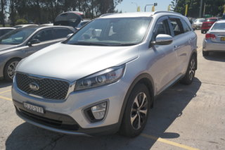 2016 Kia Sorento UM MY16 SLi AWD Silver 6 Speed Sports Automatic Wagon.