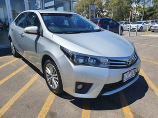 2014 Toyota Corolla ZRE172R SX S-CVT Silver 7 Speed Constant Variable Sedan.