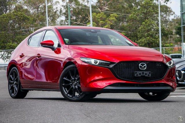 New Mazda 3 BP2HLA G25 SKYACTIV-Drive Astina Waitara, 2020 Mazda 3 BP2HLA G25 SKYACTIV-Drive Astina Red 6 Speed Sports Automatic Hatchback