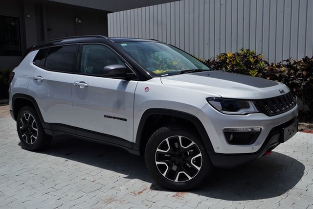 New Jeep Compass M6 MY20 Trailhawk Cairns, 2020 Jeep Compass M6 MY20 Trailhawk Minimal Grey 9 Speed Automatic Wagon