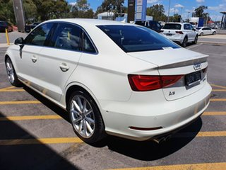 2014 Audi A3 8V MY15 Ambition S Tronic White 7 Speed Sports Automatic Dual Clutch Sedan