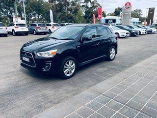 2014 Mitsubishi ASX XB MY14 Aspire Black 6 Speed Sports Automatic Wagon.