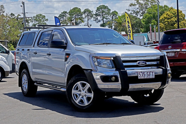 Used Ford Ranger PX XL Chandler, 2012 Ford Ranger PX XL Highlight Silver 6 Speed Sports Automatic Utility