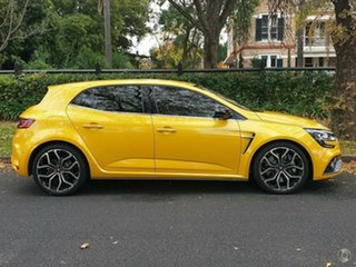 2020 Renault Megane BFB R.S. EDC Sport Liquid Yellow 6 Speed Sports Automatic Dual Clutch Hatchback.