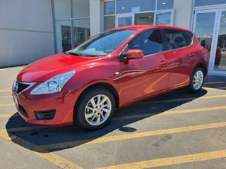 2014 Nissan Pulsar C12 ST-L Red 1 Speed Constant Variable Hatchback.