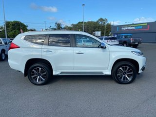 2018 Mitsubishi Pajero Sport QE MY18 GLS White Solid 8 Speed Sports Automatic Wagon.