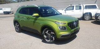2019 Hyundai Venue QX MY20 Launch Edition Green 6 Speed Automatic Wagon.