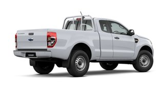2020 Ford Ranger PX MkIII 2021.25MY XL Arctic White 6 Speed Sports Automatic Super Cab Pick Up