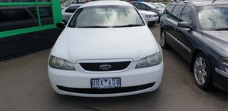 2003 Ford Falcon BA XT White 4 Speed Sports Automatic Wagon.