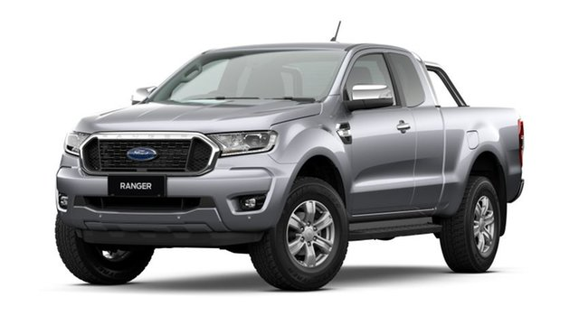 New Ford Ranger PX MkIII 2021.25MY XLT Deer Park, 2020 Ford Ranger PX MkIII 2021.25MY XLT Aluminium Silver 6 Speed Sports Automatic Super Cab Pick Up