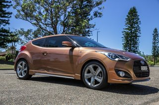 2012 Hyundai Veloster FS2 SR Coupe Turbo Marmalade 6 Speed Manual Hatchback.