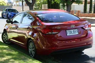 2013 Hyundai Elantra MD3 Trophy Red 6 Speed Sports Automatic Sedan.