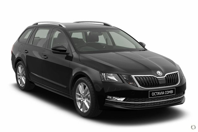 New Skoda Octavia NE MY20.5 110TSI DSG Seaford, 2020 Skoda Octavia NE MY20.5 110TSI DSG Black 7 Speed Sports Automatic Dual Clutch Wagon