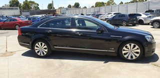 2012 Holden Caprice WM II MY12.5 V Black 6 Speed Sports Automatic Sedan.