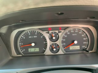 2002 Ford Fairmont BA White 4 Speed Automatic Sedan