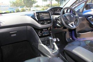 2013 Peugeot 208 Allure Blue 4 Speed Automatic Hatchback