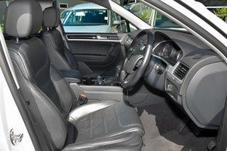 2012 Volkswagen Touareg 7P MY13 V6 TDI Tiptronic 4MOTION White 8 Speed Sports Automatic Wagon