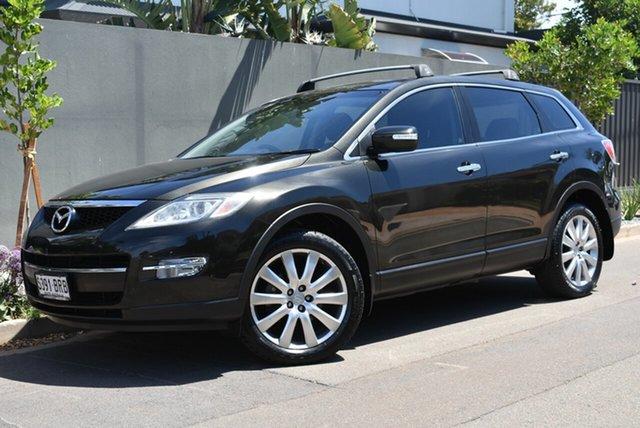 Used Mazda CX-9 TB10A1 Luxury Brighton, 2007 Mazda CX-9 TB10A1 Luxury Black 6 Speed Sports Automatic Wagon