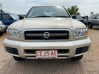 2003 Nissan Pathfinder WX II MY2003 ST Gold 4 Speed Automatic Wagon