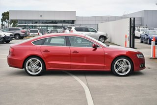 2011 Audi A5 8T MY12 Sportback S Tronic Quattro Red 7 Speed Sports Automatic Dual Clutch Hatchback