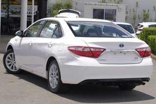2016 Toyota Camry AVV50R Atara S Diamond White 1 Speed Constant Variable Sedan Hybrid.