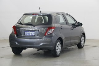 2011 Toyota Yaris NCP130R YR Grey 5 Speed Manual Hatchback