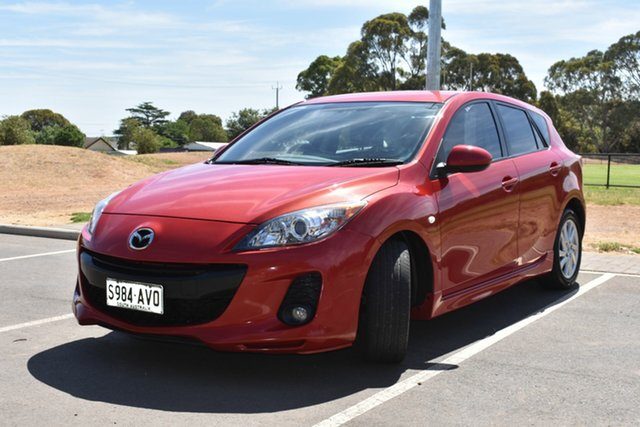 Used Mazda 3 BL10F2 Maxx Activematic Sport St Marys, 2012 Mazda 3 BL10F2 Maxx Activematic Sport Red 5 Speed Sports Automatic Hatchback