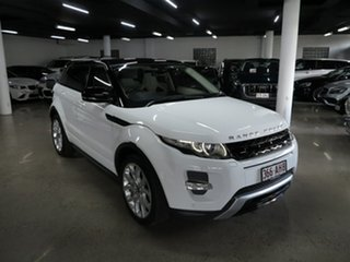 2013 Land Rover Range Rover Evoque L538 MY13 SD4 CommandShift Dynamic White 6 Speed Sports Automatic.