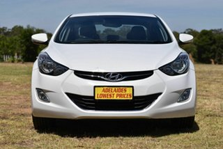 2011 Hyundai Elantra MD Elite White 6 Speed Sports Automatic Sedan.
