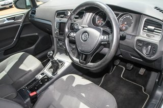 2013 Volkswagen Golf VII 90TSI Comfortline Silver 6 Speed Manual Hatchback