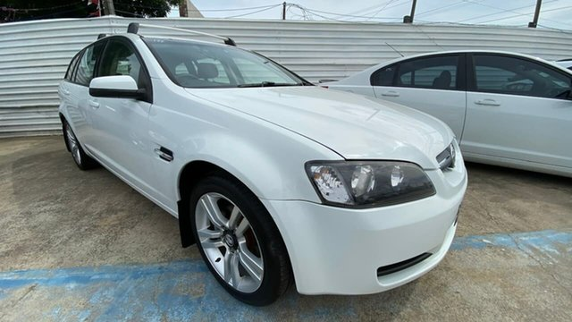 Used Holden Commodore VE MY09.5 Omega Sportwagon Maidstone, 2009 Holden Commodore VE MY09.5 Omega Sportwagon White 4 Speed Automatic Wagon