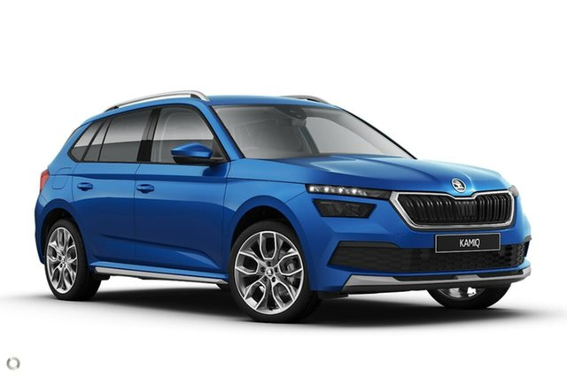 New Skoda Kamiq NW MY21 85TSI DSG FWD Seaford, 2020 Skoda Kamiq NW MY21 85TSI DSG FWD Blue 7 Speed Sports Automatic Dual Clutch Wagon