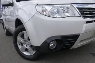 2008 Subaru Forester 79V MY08 XS AWD Satin White Pearl 5 Speed Manual Wagon.